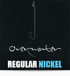 Overwater Regular Nickel Bass Guitar Strings