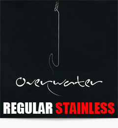 Overwater Regular Stainless Steel Bass Guitar Strings