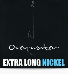 Overwater Extra Long Nickel Bass Guitar Strings