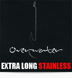 Overwater Extra Long Stainless Steel Bass Guitar Strings