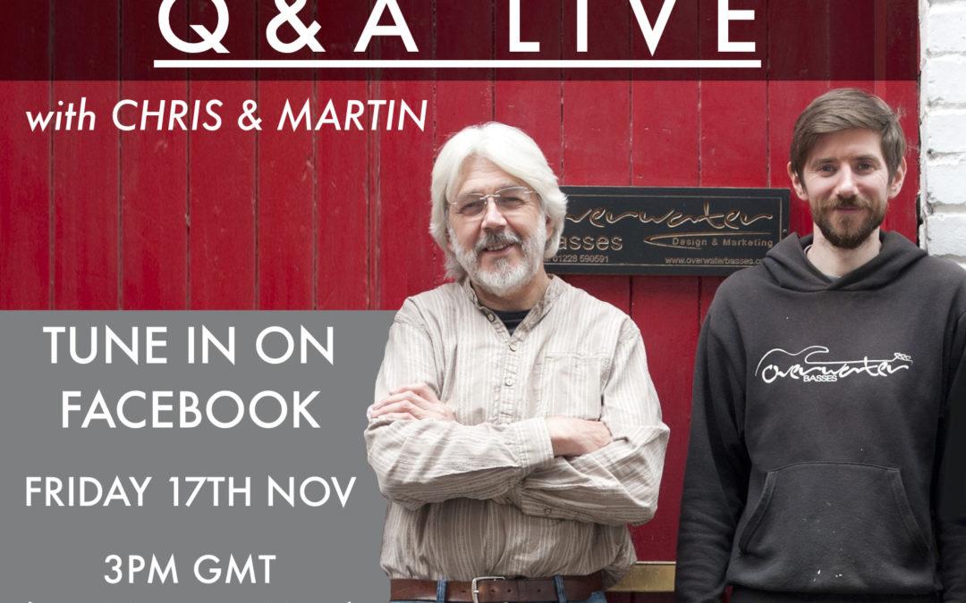 Q & A Live