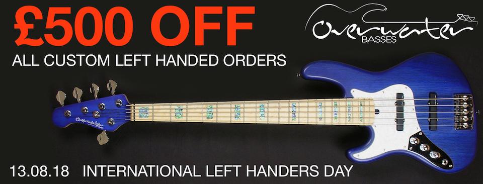 Left Handers Day OFFER