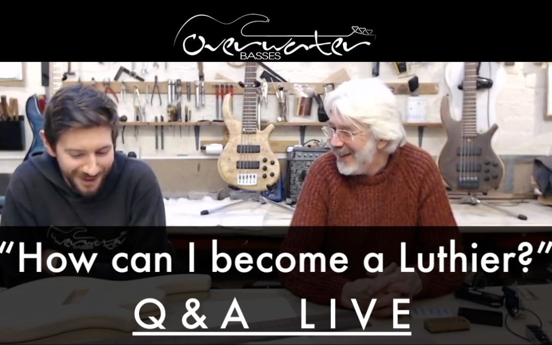 """Becoming a Luthier""…"