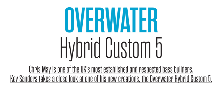 Bass Player Magazine – Overwater Hybrid Review
