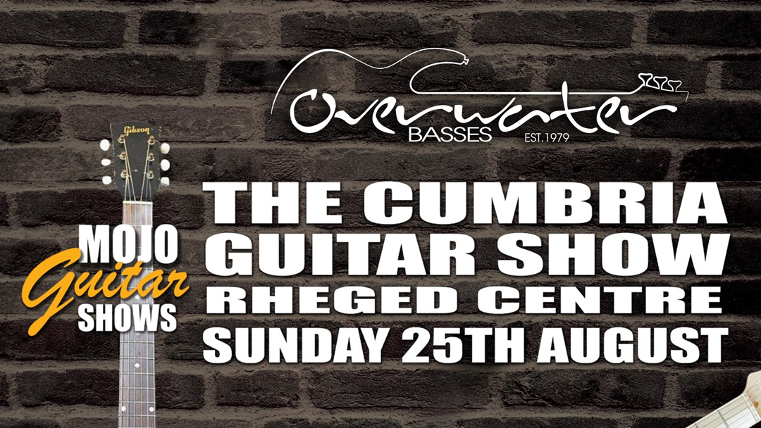 Overwater At The Cumbria Guitar Show – Sunday 25th August