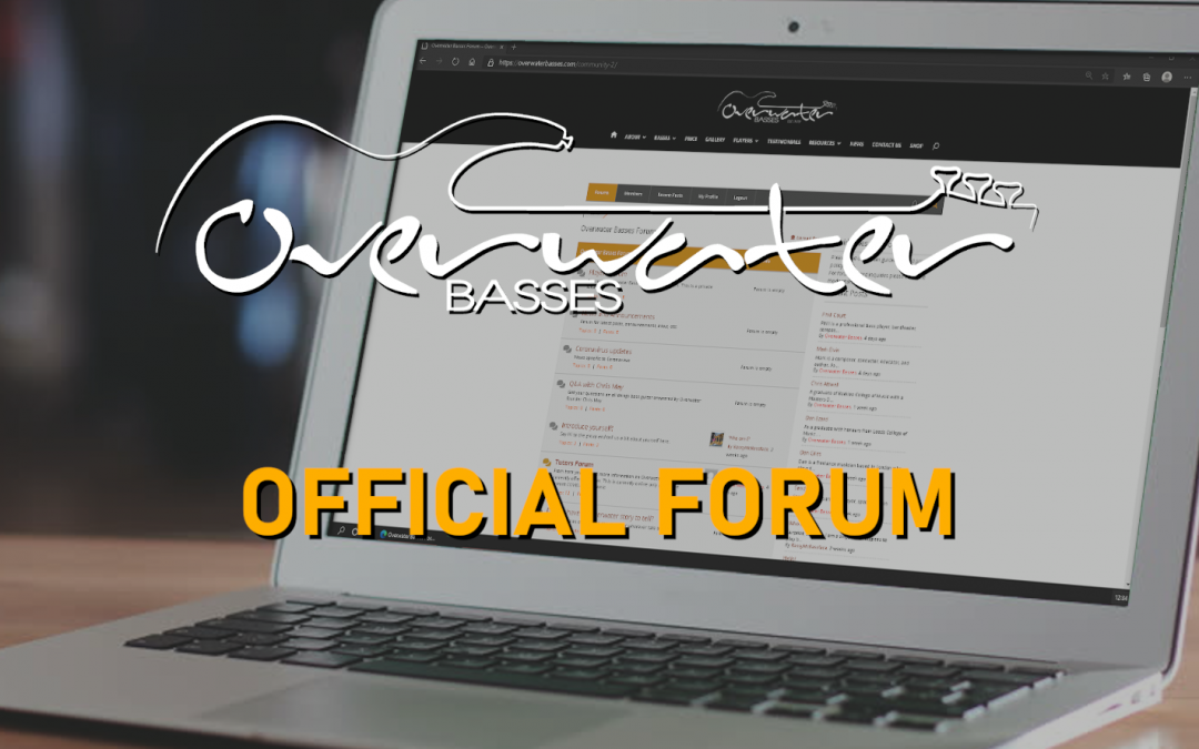 Overwater Launches it's Forum